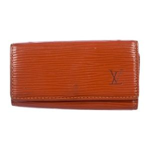 Louis Vuitton Cinnamon Epi Leather 4-Key Holder